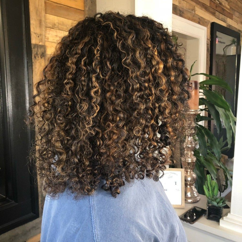 Pintura Highlights The Best Color Technique For Curly Hair Curly Hair Styles Naturally Highlights Curly Hair Curly Hair Styles