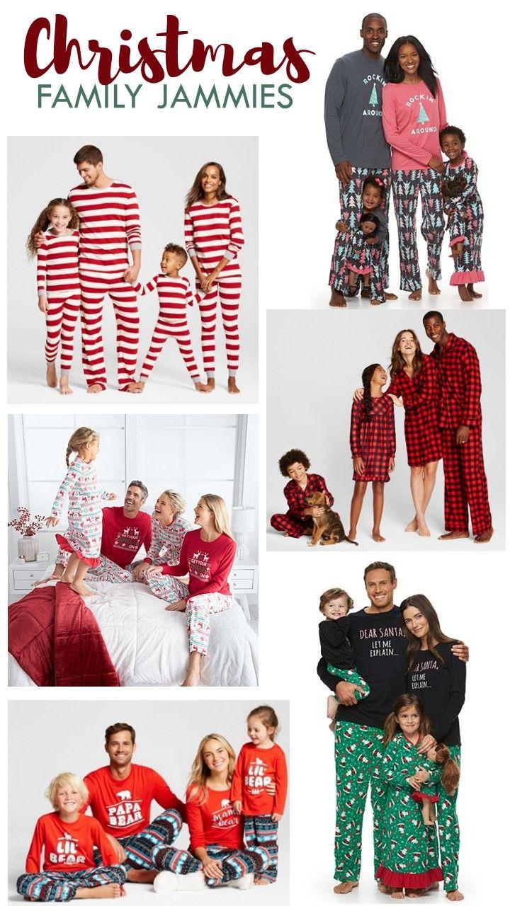 Family Christmas Jammies Roundup   christmas stuff   Pinterest ...