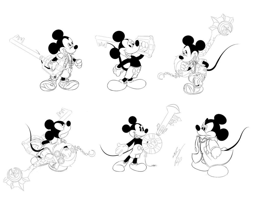 Mickey mouse kh series by gunzcon on deviantart the board to