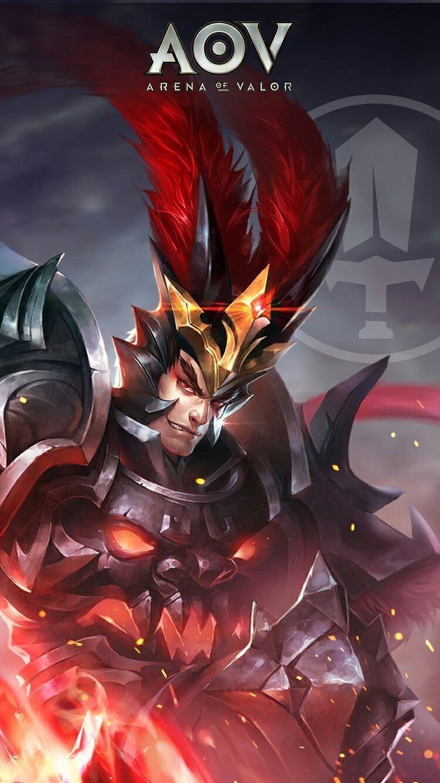 Lu Bu Warrior Arena Of Valor Aov Arena Of Valor Wallpapers Pinterest Game Art Mobile Legends And Wallpaper