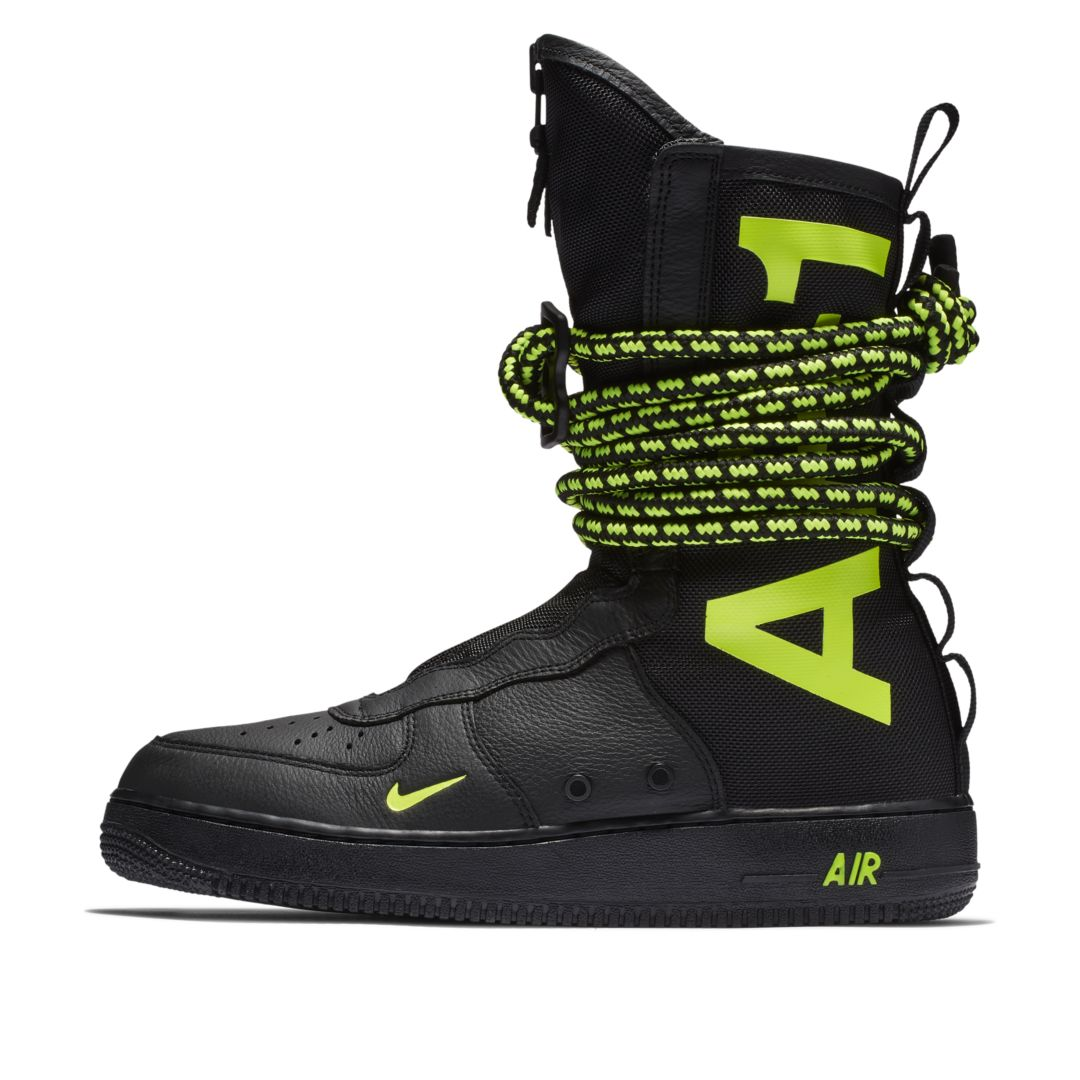 new arrival 45ed3 1be33 Nike SF Air Force 1 High Men s Boot Size 7.5 (Black)