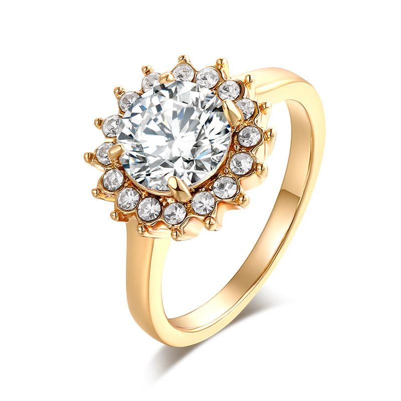 2b2c522c2557 Anillos Sortijas Argollas de Compromiso Matrimonio Joyería Para Mujer   Vitalina  Beauty