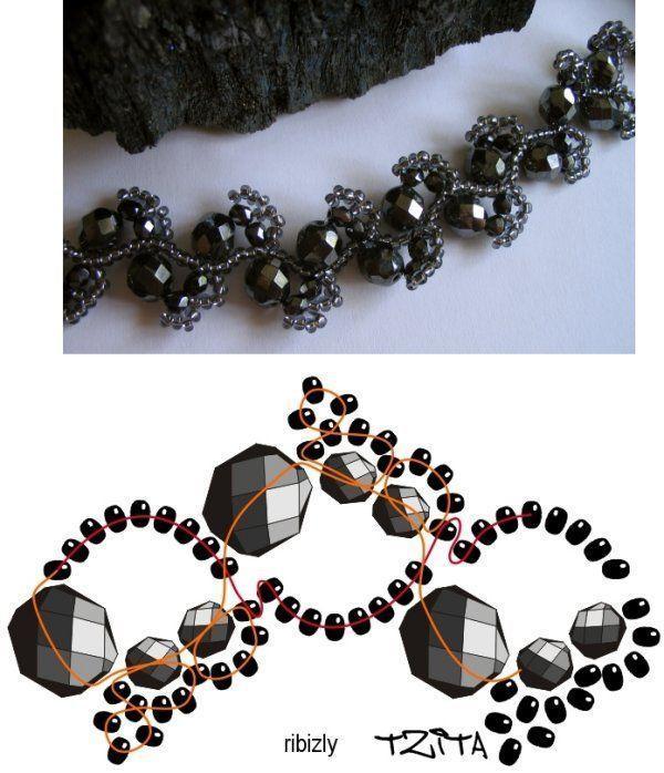 meine Perlenstickerei, # meine # Perlenstickerei # Halsketten meine Perlenstickerei ...