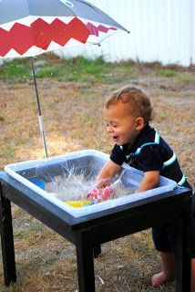 Diy Sand Water Sensory Table That Is Much Er Than Ing One Also