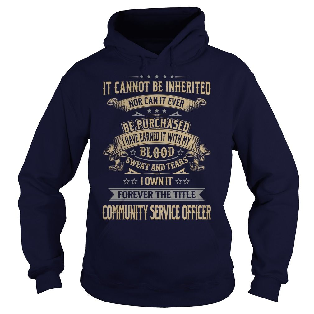 Community service officer forever job title shirts gift ideas