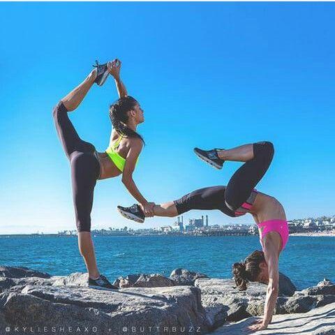 fitness  yoga poses yoga posses couples yoga