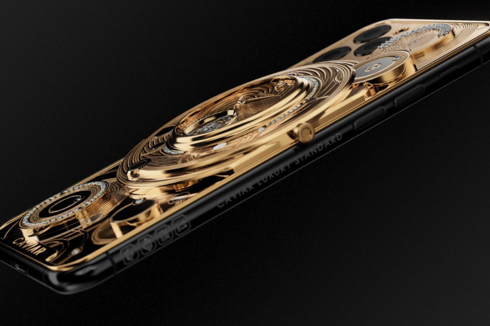 70 000 Iphone 11 Pro Comes With A Golden Watch On Its Back
