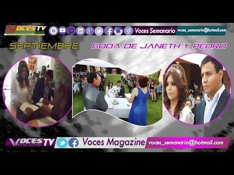 @VOCES_SEMANARIO @VOCES_MAGAZINE 32 (BODA PEDRO Y JANETH) TORREON