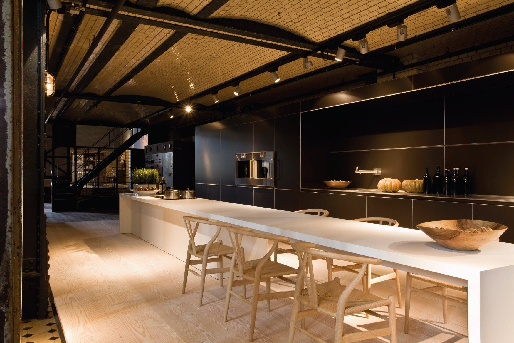 Beautiful Innovative Kitchen Design By Gaggenau Living  # Muebles De Cocina Gaggenau