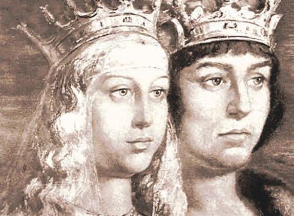 Los reyes católicos (Fernando e Isabel)