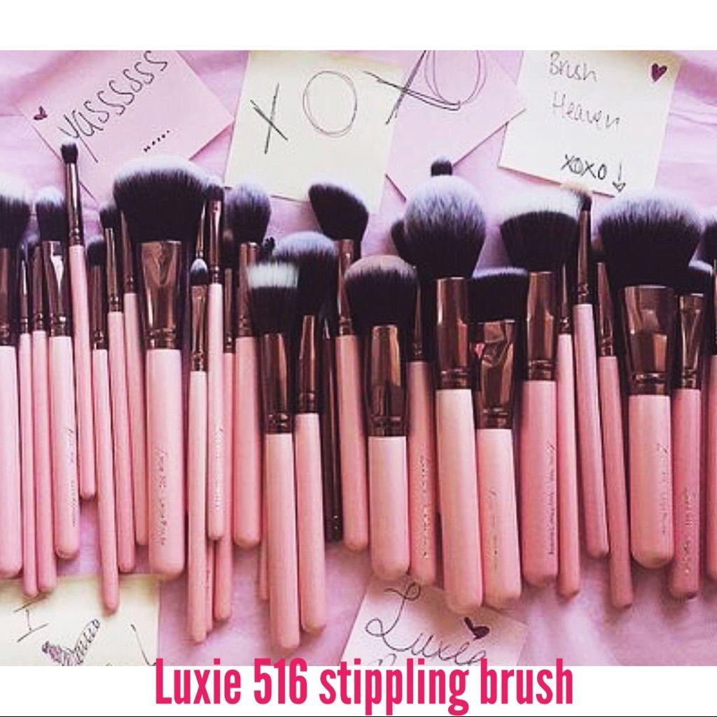 Luxie Duo Fiber Brush 516 Makeup brush set, Makeup geek