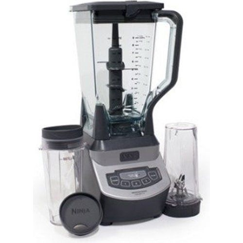 Ninja Professional Blender With Single Serve Blending Cups Bl660