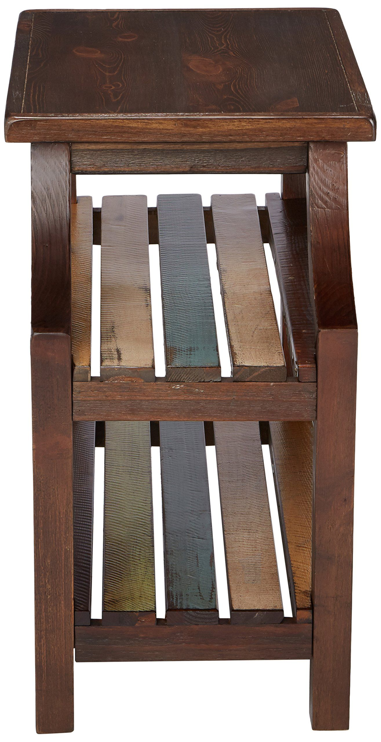 Ashley Furniture Signature Design Mestler Chair Side End Table Rectangular Rustic Brown Find Out Signature Design By Ashley Signature Design End Tables [ 2560 x 1315 Pixel ]