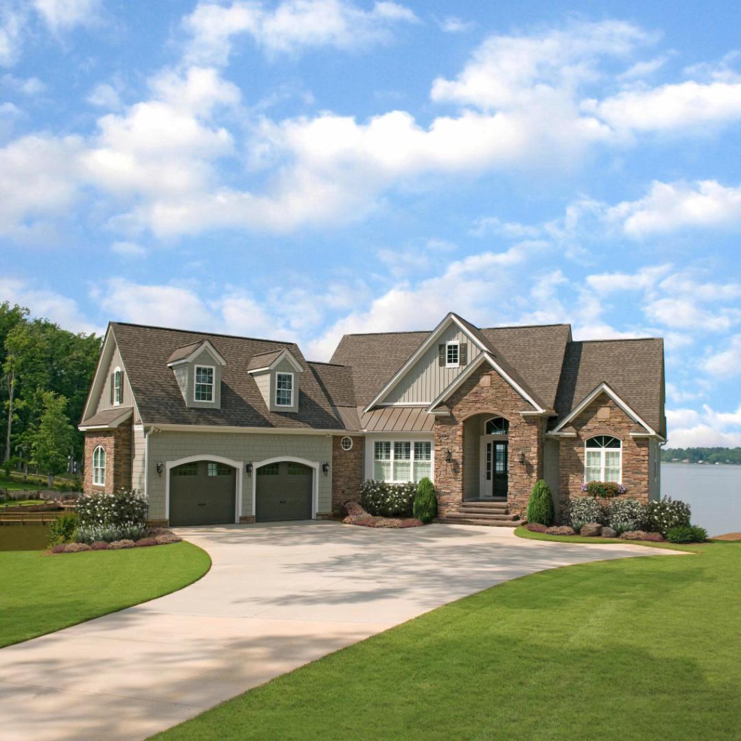 The Silvergate house plan 1254-D #modernfarmhouseexterior