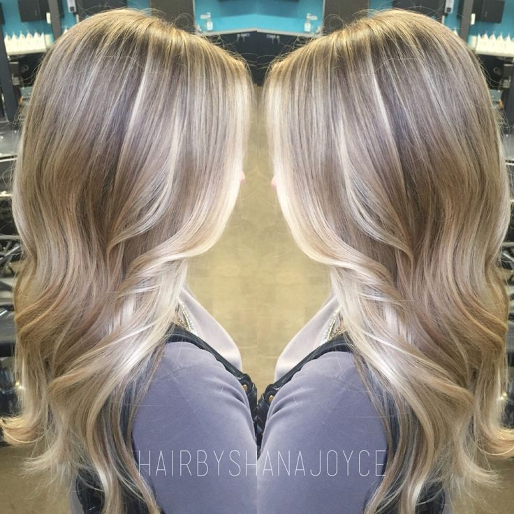 50 Amazing Blonde Balayage Haircolor Hair Color Trends Pinterest