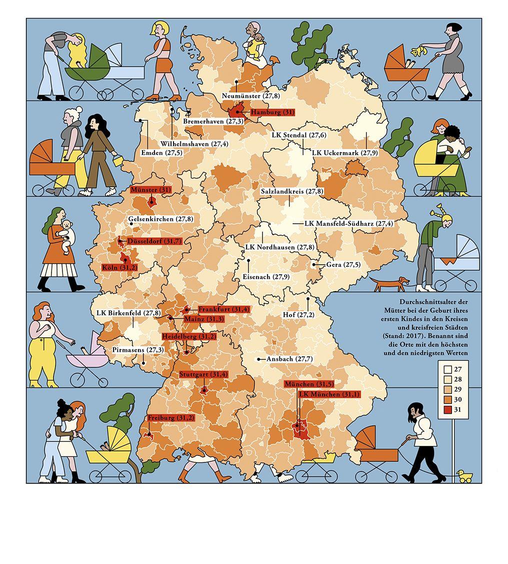 21 Deutschlandkarte Das Alter Von Muttern Fictional Characters