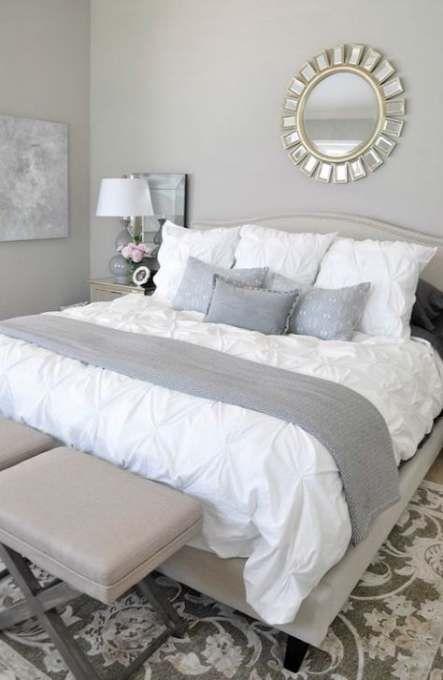 Photo of 56+ idee casa biancheria da letto grigio bianco