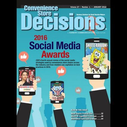 Seasons Corner Market is named a winner in the 2016 Social Media Awards from industry publication Convenience Store Decisions