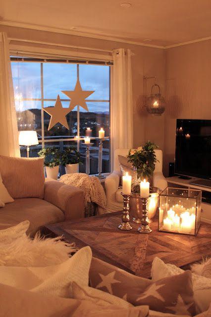 Lindevegen advent landhaus deko weihnachten - Weihnachten wohnzimmer ...