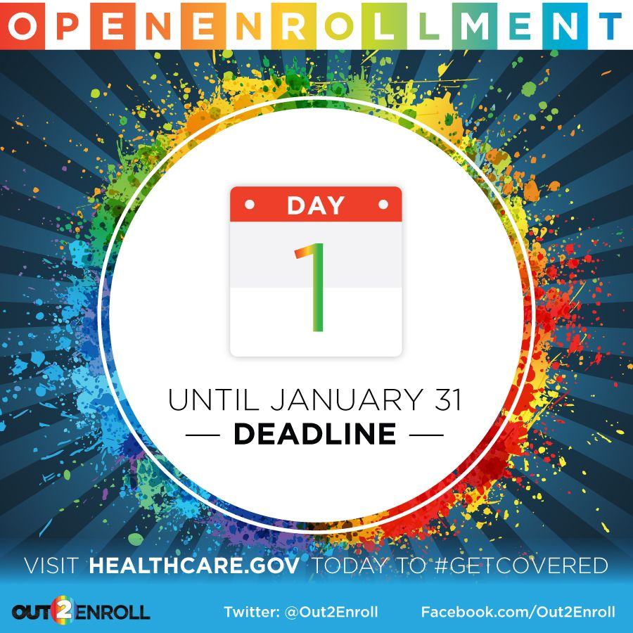 One More Day Until The Deadline To Enroll For Insurance At Http