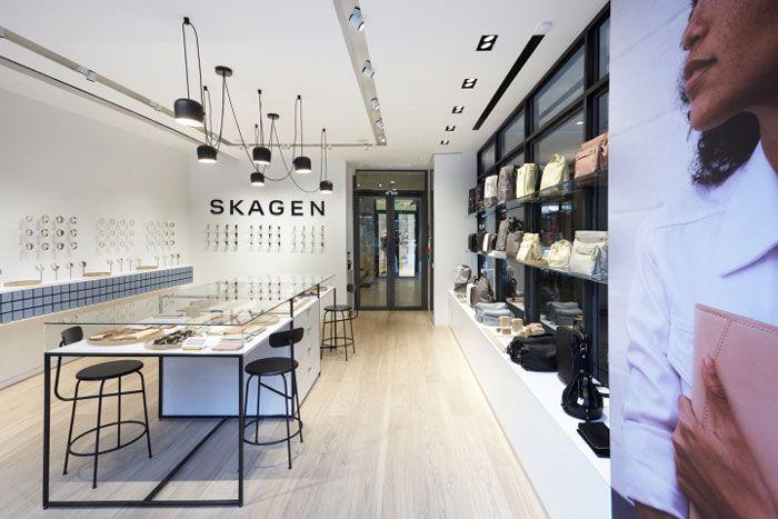 Skagen Flagship Store In Paris Nordic Design 01 Cool Retail Retail Store Design Shop Interior Design