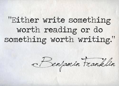 Either write...