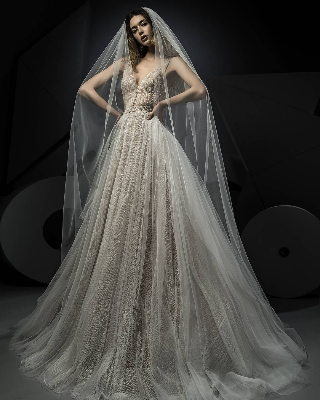 Choose to be a dreamy appearance in our Miss Hunt wedding gown ...