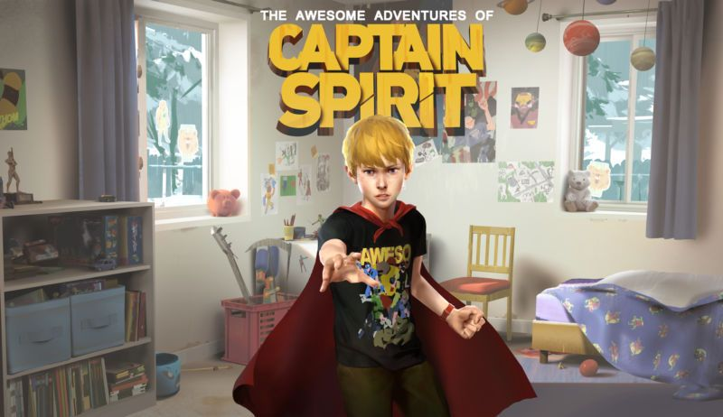 Awesome Adventures of Captain Spirit world premiere: Life Is Strange, but not | Ars Technica