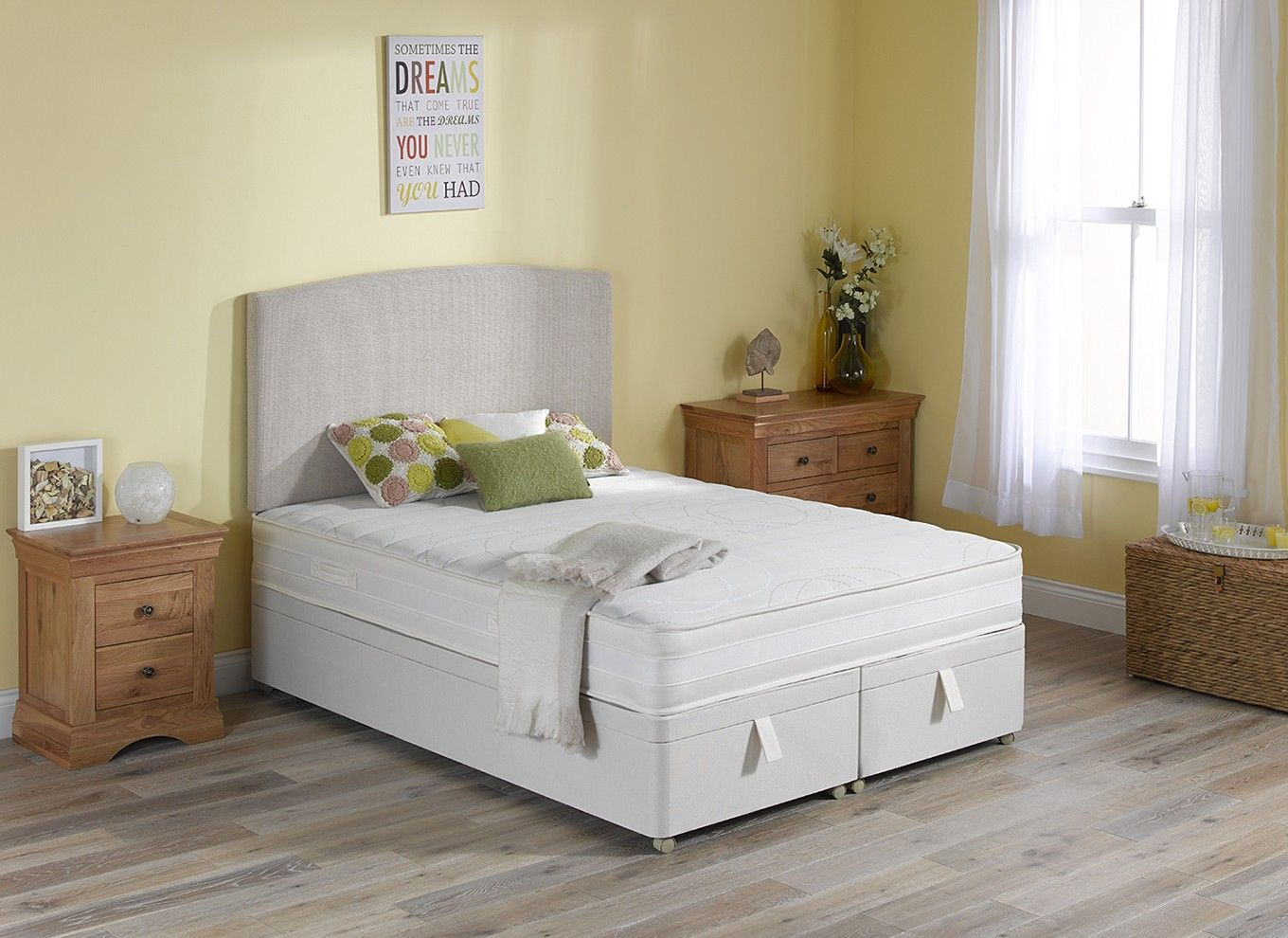 Fusion Pocket Spring Ottoman Bed - Firm   Bedroom   Pinterest