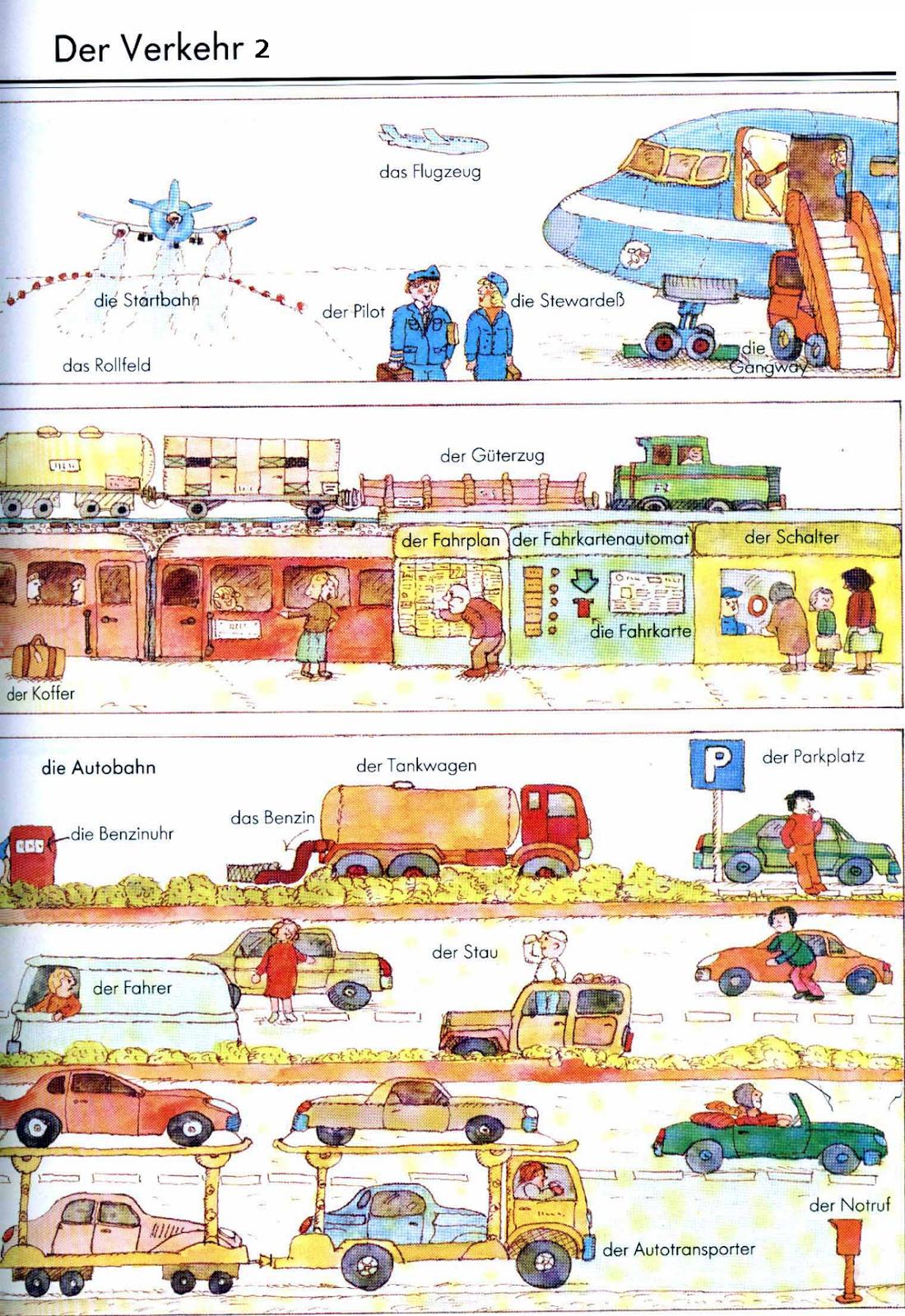 German For Beginners: Transport 2                                                                                                                                                      Más
