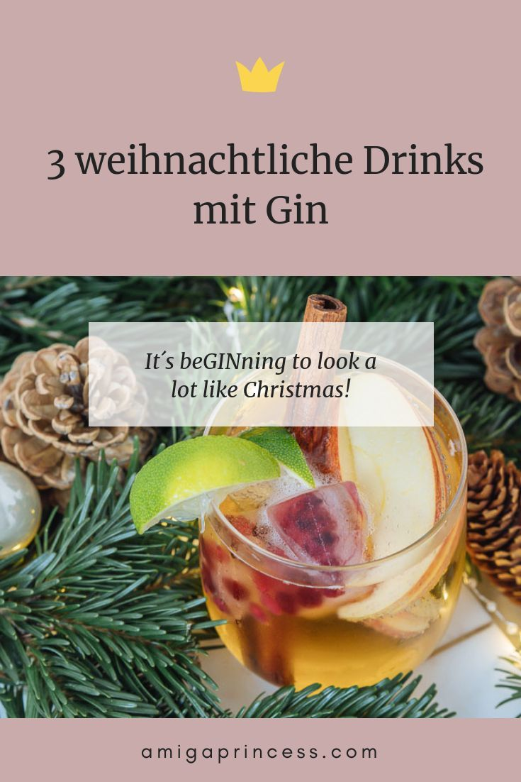 GINgle Bells: 3 weihnachtliche Drinks mit Gin - #gincocktailrecipes