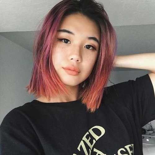 25 Neueste Trend-Haarfarbideen für kurzes Haar | Trend Bob Frisuren 2019 – Trend Bob Frisuren