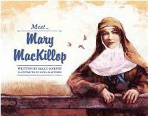 Meet Mary MacKillop by Sally Murphy,http://www.amazon.com/dp/1742757227/ref=cm_sw_r_pi_dp_dNtptb0NKYCMXJB3