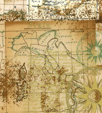 Antique map fabric explorer by punch studio 965 yard antique map fabric explorer by punch studio gumiabroncs Image collections