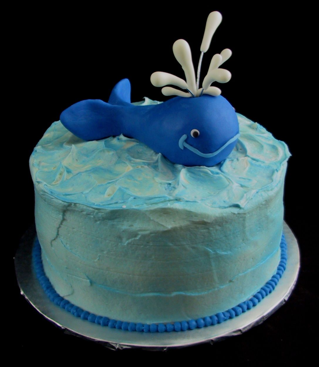 Awesome Whimsical Whale Birthday Cake Lexington Ky With Images Funny Birthday Cards Online Overcheapnameinfo