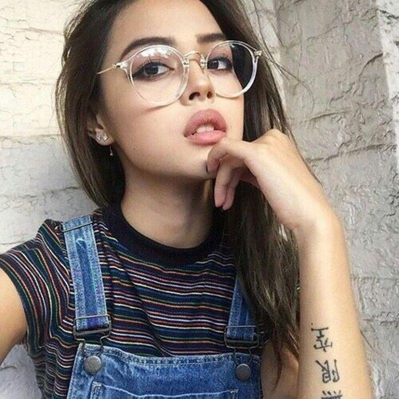 2637327620 Retro Vintage Men Women Eyeglass Frame Glasses Spectacles Clear Lens Eyewear  Rx