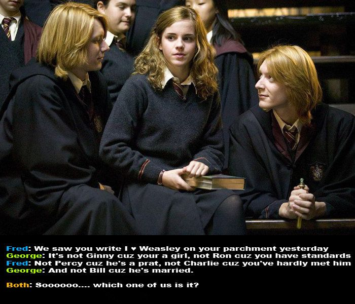 """""""not Ron because you have standards"""" lol"""