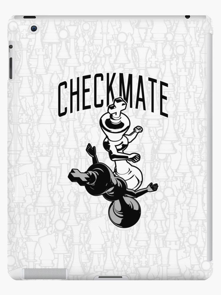'Checkmate Punch Funny Boxing Chess' iPad Case/Skin by