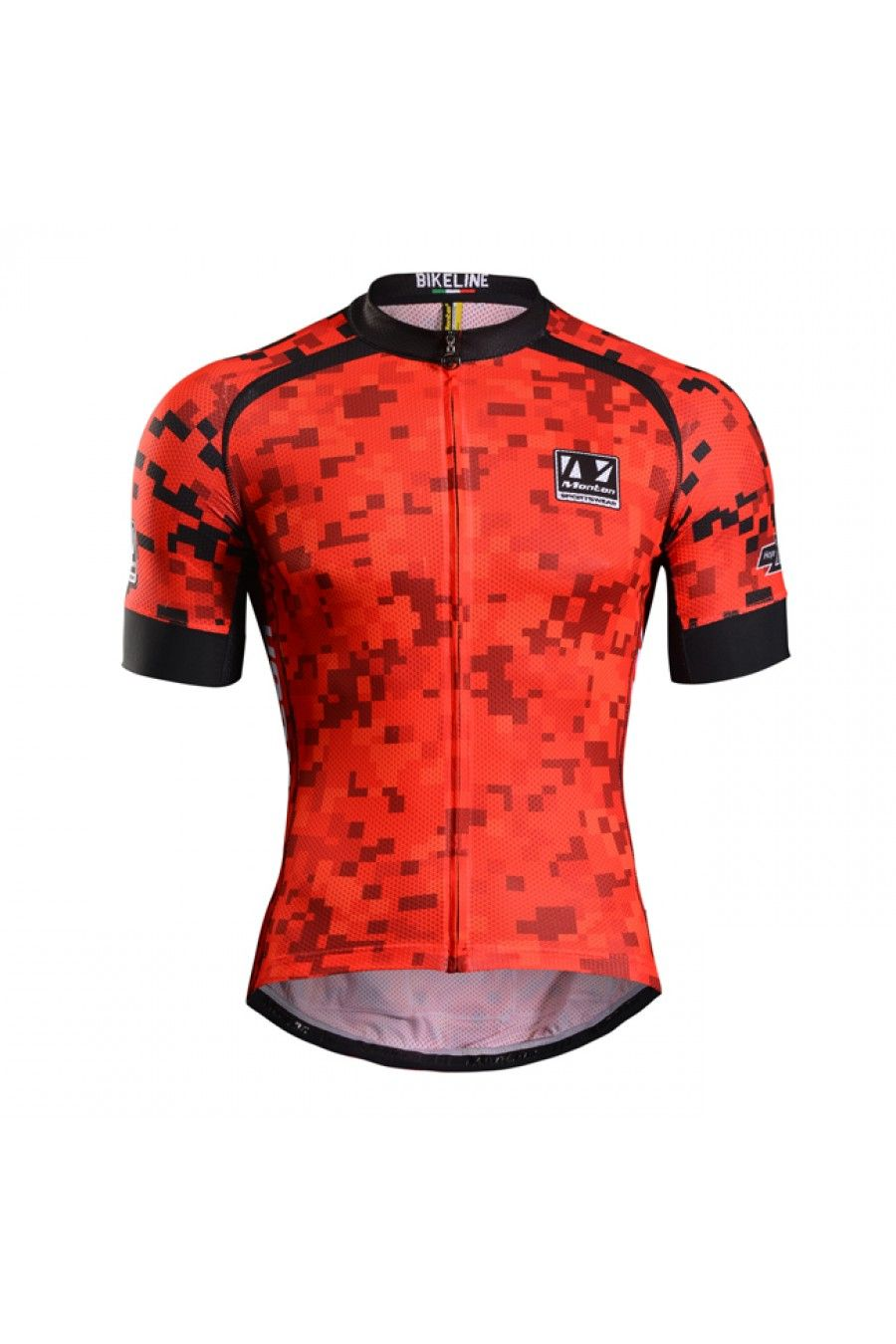 64f5ceb2d 2015 Pro Plus Mens Cool Cycling Jersey Red Devil