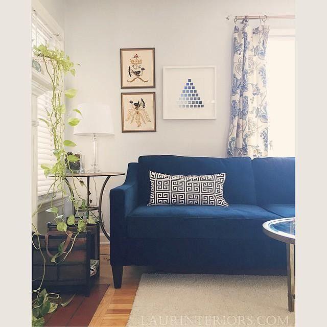 west elm Paidge Sofa (72.5 ) in 2019 | Home | Velvet sofa ...