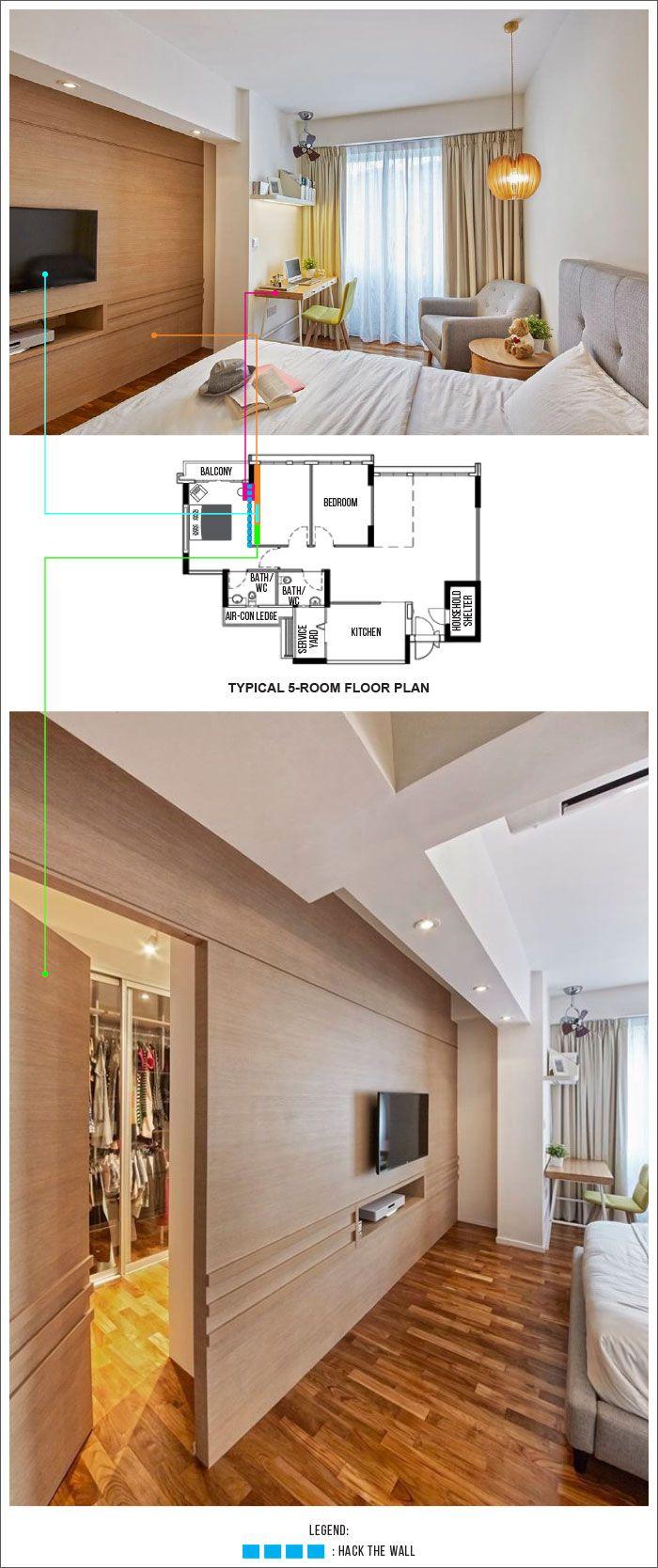 Punggol brooke water way hdb 5 room renovation - 15 Interesting Layout Designs For Waterway Cascadia