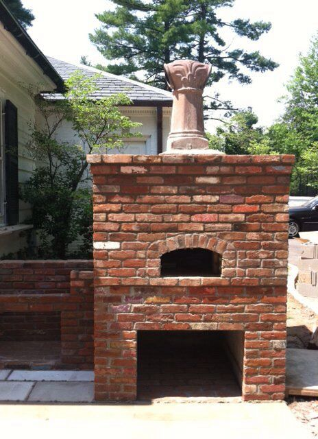 Pizza Oven  By Sparks Masonry Inc.  New Albany IN