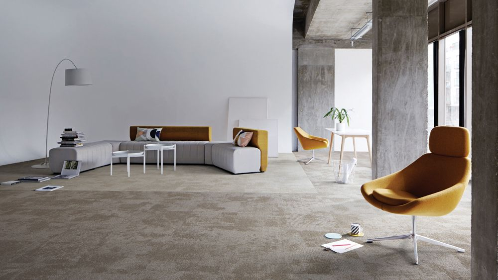 Our New Carpet Tile Range Composure Has Been Designed With The