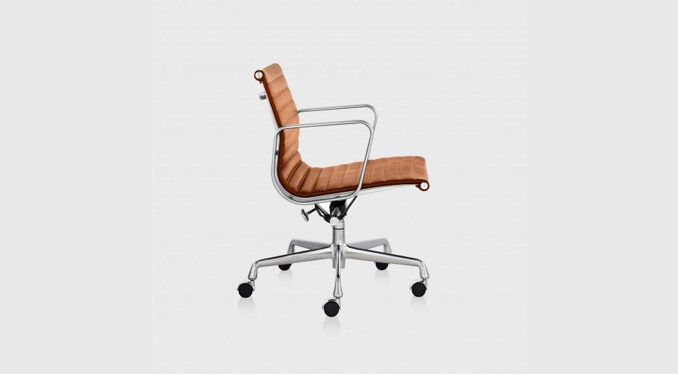Desk Chair Dreaming Eames Aluminium Group Management Chair Living Edge