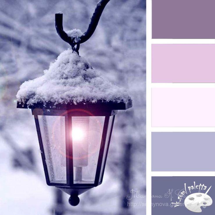 Gallery.ru / Фото #210 - сочетание цвета оттенки сирени и ...