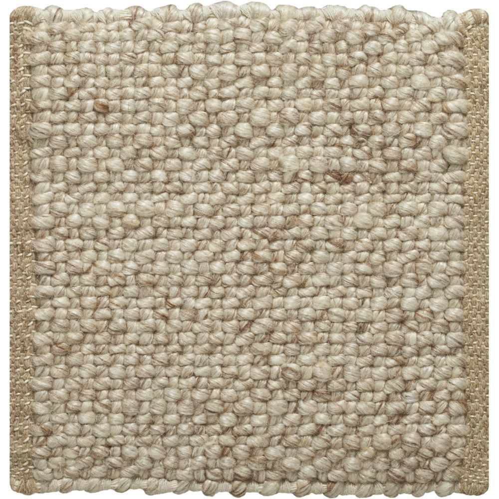 Crate And Barrel Kitchen Rugs Jasper Wheat Wool Blend 12 Sq Rug Swatch Crate And Barrel