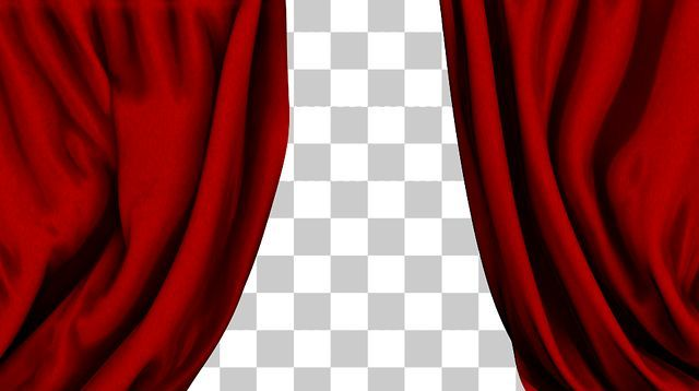 Two Downloadable 1080p Hd Motion Graphic Videos Of The Classic Red Fabric Curtains That Are Scene At Movies Shows Eve Colorful