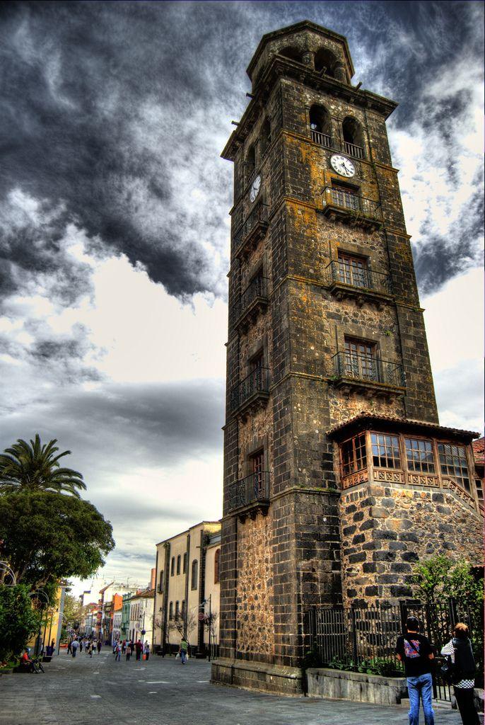 Torre iglesia de la concepci n tenerife pinterest tenerife espa a y viajar por espa a - Temperatura en san cristobal de la laguna ...