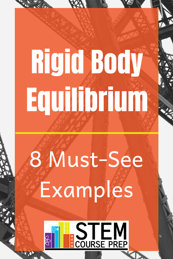 Learn How To Analyze Rigid Body Supports Draw Free Diagrams A Diagram And Solve Equilibrium