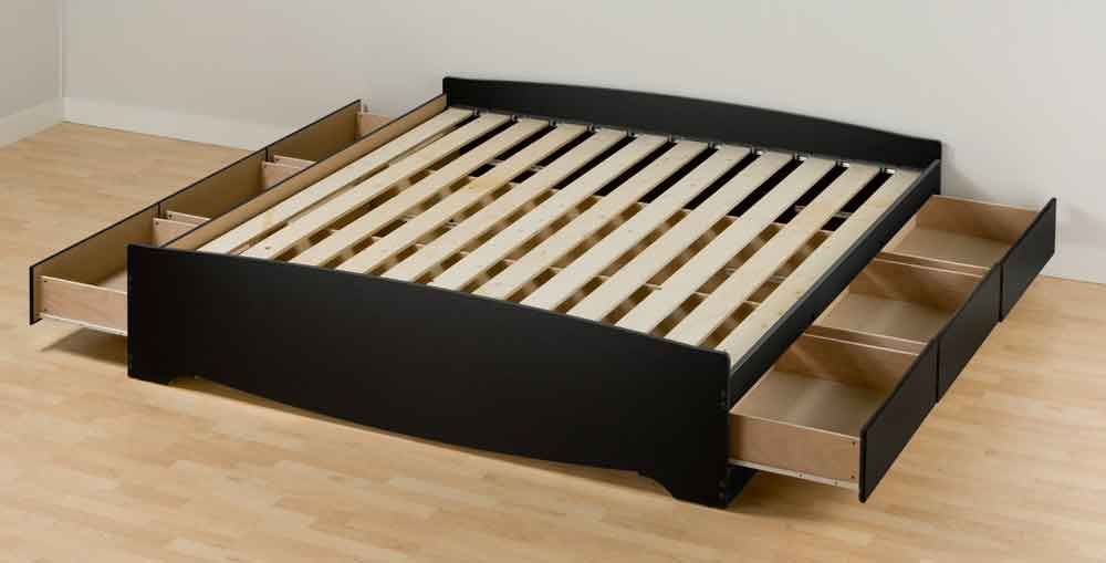 king platform bed with storage drawers. Prepac Furniture King Mate\u0027s Platform Storage Bed With Six Drawers DrawersEnjoy Floor Space And T